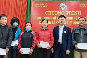 Bắc Giang: Tặng quà, hỗ trợ đột xuất gần 20,2 nghìn hộ nghèo, đối tượng yếu thế