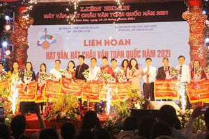 Quảng Ninh đoạt giải Xuất sắc tại Liên hoan hát văn, chầu văn toàn quốc
