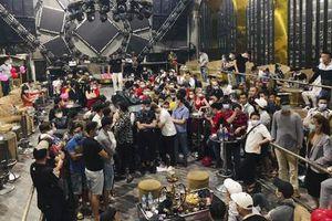 Hơn 100 người dương tính chất ma túy trong quán bar ở Sài Gòn