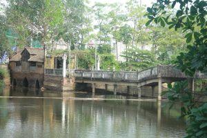 Cầu Khum – cây cầu đặc biệt của người dân làng Yên