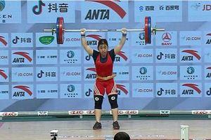 Hoàng Thị Duyên giành Huy chương đồng Giải vô địch cử tạ châu Á 2021