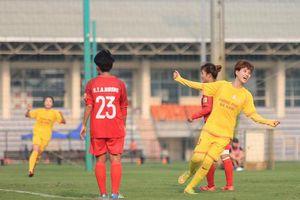 Phong Phú Hà Nam ẵm trọn điểm trong ngày khai mạc khai mạc Giải bóng đá Nữ Cúp Quốc gia 2021