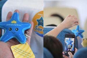 Netizen thích thú với thông điệp cực ý nghĩa từ 'chuyến bay sao biển' của Vietnam Airlines
