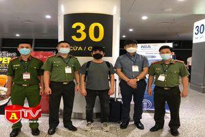 Bắt đối tượng người Hàn Quốc có lệnh truy nã của Interpol