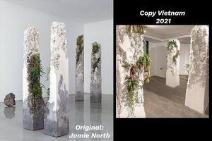 Trước sức ép của dư luận, nhà sáng tạo Bảo Nam xin lỗi vì 'đạo' tác phẩm của nghệ sĩ nước ngoài
