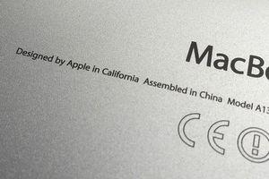 Nhiều sản phẩm Apple sẽ bỏ dòng chữ 'lắp ráp tại Trung Quốc'
