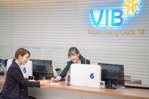 Lãi trước thuế của VIB tăng gần 70%, cổ phiếu vượt đỉnh