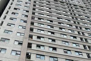 Các căn hộ ở Xuân Mai Complex đều không có chấn song cửa sổ