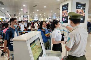 Lượng khách tại Sân bay Nội Bài sẽ tăng 40% dịp lễ