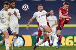 Leeds cầm chân Liverpool 1-1