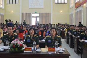 Kho J106 tổ chức Đại hội Phụ nữ làm trước cấp cơ sở trong Tổng cục Kỹ thuật