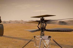 Video khoảnh khắc lịch sử máy bay Ingenuity cất cánh trên Sao Hỏa