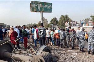 Tai nạn đường sắt nghiêm trọng tại Ai Cập