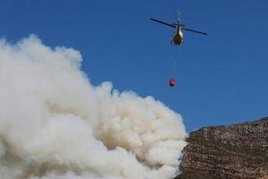 Cháy ở khu vực Table Mountain (Nam Phi) gây nhiều thiệt hại