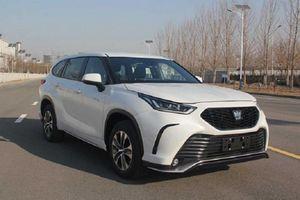 Xe sang Toyota Crown 2022 phiên bản SUV 'lộ hàng' tại Trung Quốc