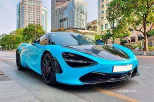 Ngắm siêu phẩm McLaren 720S hơn 20 tỷ trên phố Sài thành