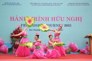 Hành trình hữu nghị 2021 về với mảnh đất Đan Phượng, Hà Nội