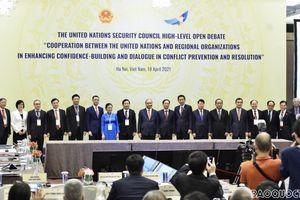Phiên thảo luận mở Cấp cao HĐBA LHQ: Xây dựng lòng tin, đối thoại - thành tố thiết yếu để ngăn ngừa xung đột