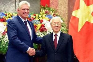 Tổng Bí thư Nguyễn Phú Trọng gửi điện mừng Bí thư thứ nhất Ban Chấp hành Trung ương Đảng Cộng sản Cuba