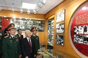 Tổng Bí thư dự Lễ kỷ niệm 70 năm Ngày Truyền thống Bệnh viện 108