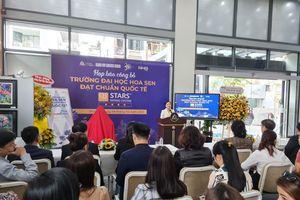 Trường Đại học Hoa Sen công bố đạt tiêu chuẩn 4 sao theo QS-Stars