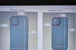 iPhone 13 mini sẽ có camera đặt chéo?