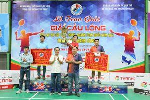 Bế mạc giải Cầu lông các Câu lạc bộ toàn quốc tại Cần Thơ