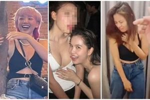 Khi mỹ nhân Việt đi nhậu say xỉn: Tóc Tiên nằm vắt người qua sofa, Ngọc Trinh có hành động 'biến thái'