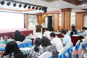 Phổ biến Luật Thư viện cho đội ngũ người làm công tác thư viện ở Hà Tĩnh