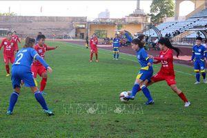 Bảy đội bóng tham dự Giải bóng đá Nữ Cúp quốc gia 2021