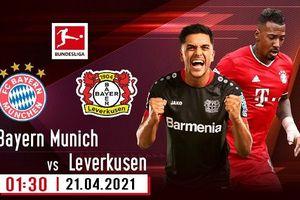 Nhận định Bayern Munich và Leverkusen, trực tiếp trên VTVcab ON