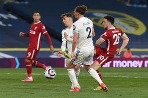 Liverpool lỡ cơ hội vào Top 4 sau trận hòa tiếc nuối trước Leeds United