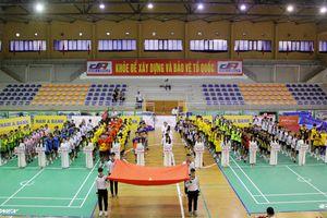 Gần 300 VĐV tranh tài Giải vô địch Cầu mây quốc gia năm 2021