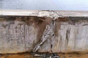 Thanh Hóa yêu cầu kiểm định lại chất lượng hồ thủy lợi chưa bàn giao đã nứt