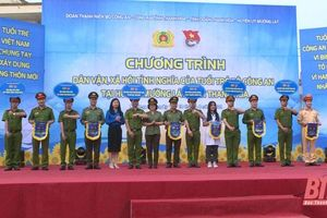 Đoàn Thanh niên Bộ Công an tổ chức nhiều hoạt động ý nghĩa tại huyện Mường Lát