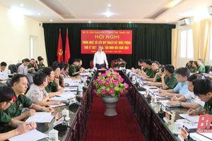 Bộ Tư lệnh Quân khu 4 - UBND tỉnh Thanh Hóa: Thống nhất số liệu quy hoạch đất Quốc phòng