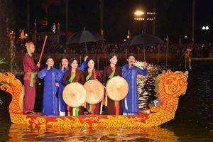 Bắc Ninh: Hát Dân ca Quan họ trên thuyền và các hoạt động văn hóa đường phố