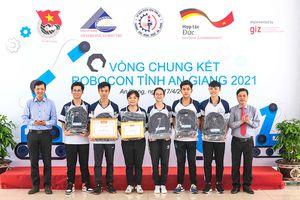 Cuộc thi Robocon tỉnh An Giang năm 2021: Trường THPT Nguyễn Trung Trực (Tri Tôn) xuất sắc đoạt giải nhất
