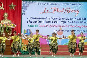 Huyện Long Điền tổ chức lễ phát động hưởng ứng Ngày Sách Việt Nam