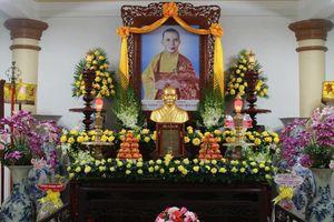 Bình Định: Lễ húy kỵ lần thứ 40 Hòa thượng Thích Tâm Hoàn tại chùa Long Khánh