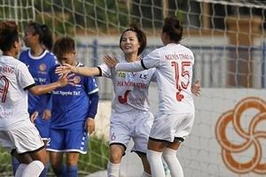 Hà Nội I Watabe ra quân thắng lợi tại giải BĐ Nữ Cúp Quốc gia 2021