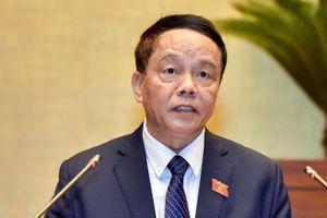 Tướng Võ Trọng Việt được rút khỏi danh sách ứng cử đại biểu Quốc hội