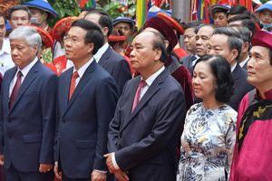 Lãnh đạo Đảng, Nhà nước dâng hương tại đền Hùng