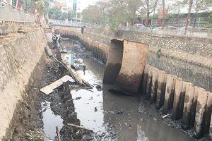 Nhiều công trình cản trở hệ thống thoát nước