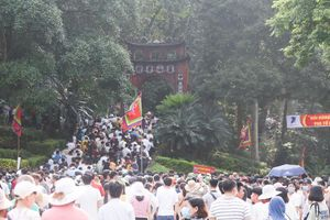 Ngày chính lễ Giỗ Tổ Hùng Vương năm 2021: Đền Hùng đón khoảng 150.000 lượt khách