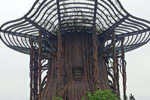 Cây Đa Hồn Việt, nơi tưởng niệm Vua Hùng ở Bình Dương