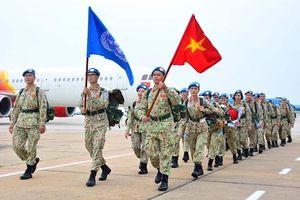 Thêm 24 quân nhân Bệnh viện Dã chiến cấp 2 số 3 lên đường làm nhiệm vụ tại Nam Sudan