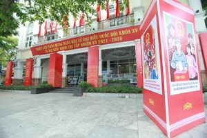 Hà Nội tuyên truyền, cổ động chào đón ngày hội toàn dân