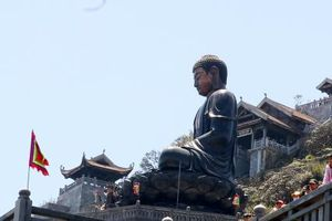 Sa Pa có tượng phật bằng đồng cao nhất Châu Á