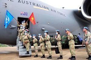 Bệnh viện Dã chiến cấp 2 số 3 lên đường thực hiện nhiệm vụ quốc tế đợt 2